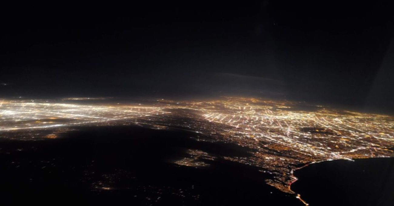 LA from Air